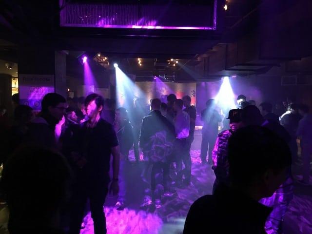STM London Affiliate meetup Appflood party bar