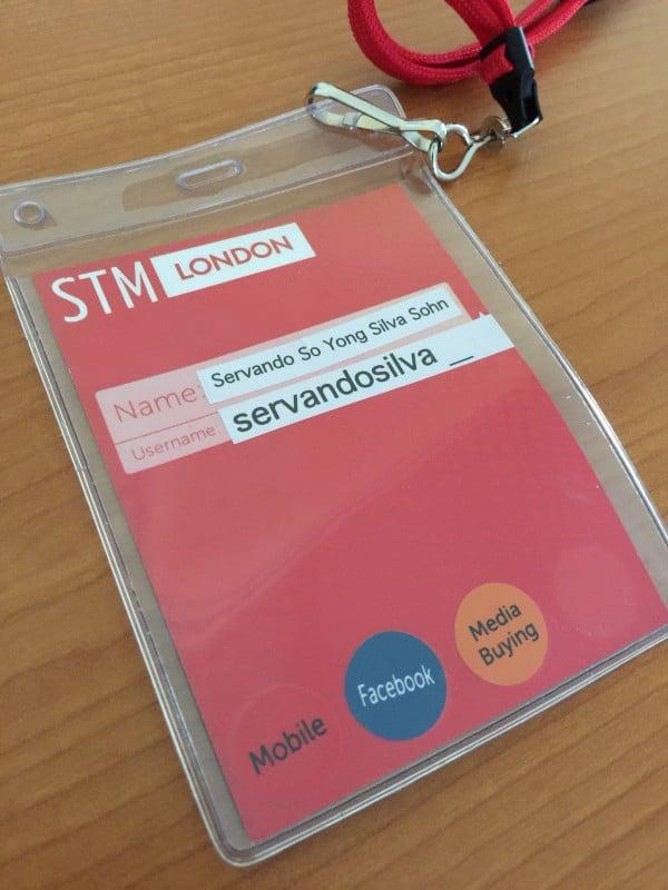 STM London Affiliate meetup card
