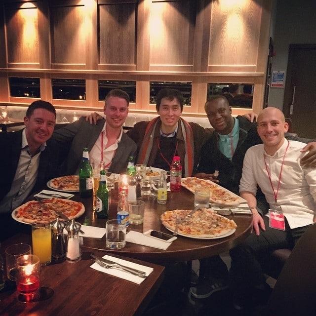 STM London Affiliate meetup dinner