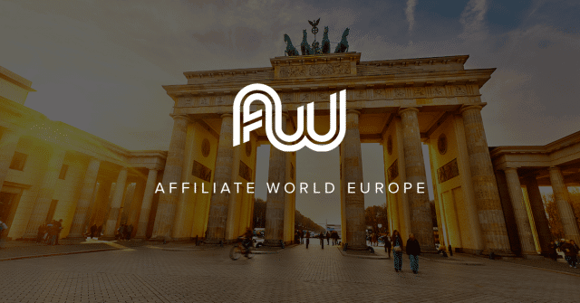 Want to go to Affiliate World Europe Berlin? Get a FREE Gold pass here!