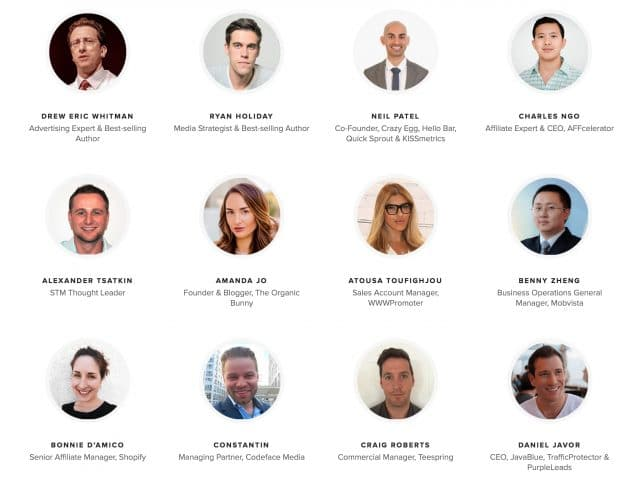Affiliate World Europe Speakers 1
