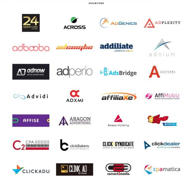 Affiliate World Europe Sponsors 1