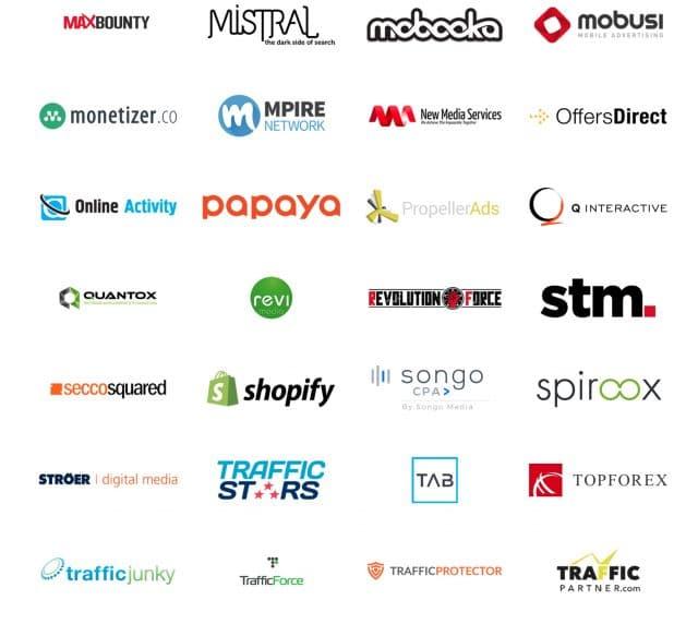 Affiliate World Europe Sponsors 3