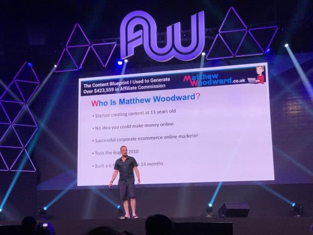 Affiliate World Asia 2016 Bangkok - Matthew Woodward