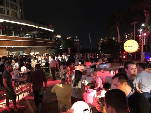 Affiliate World Asia 2016 Bangkok - Netowkring Drinks Mobidea