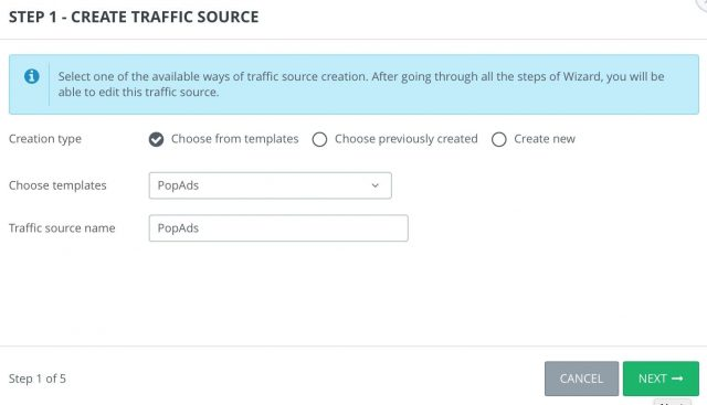 Adsbridge Review Tutorial wizard traffic source