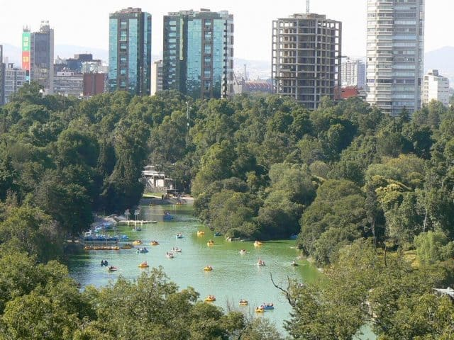 affiliate marketing in real life office vs home office - chapultepec lake