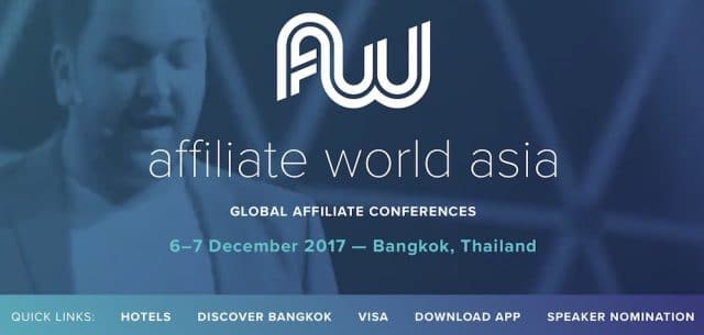 awa 2017 affiliate world asia bangkok - intro