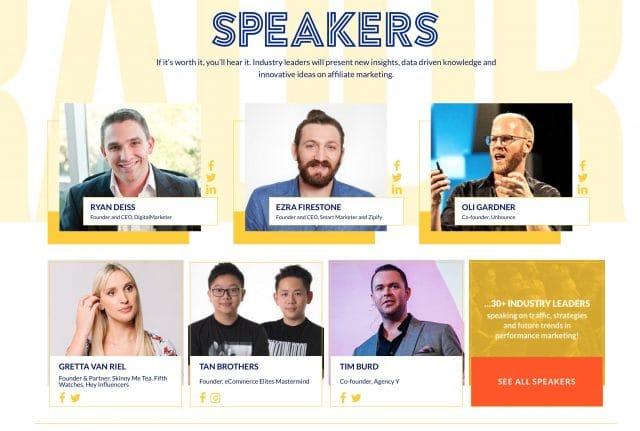 Affiliate world europe speakers