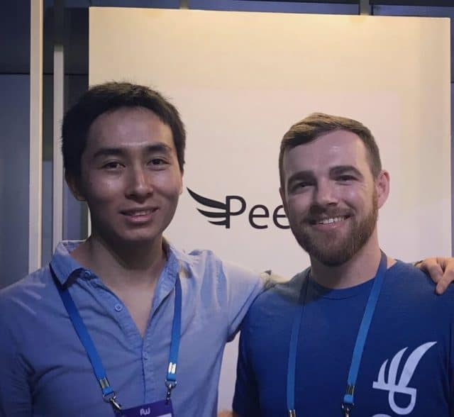 Luke Kling Peerfly Interview - Meeting at Affiliate World Asia Bangkok 2017