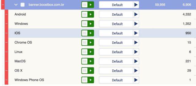 Voluum DSP 2 layer filtering