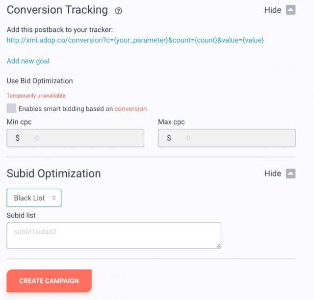 adoperator conversion optimization