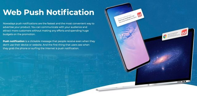 adoperator push notifications