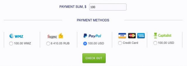 mgid ads - payment methods