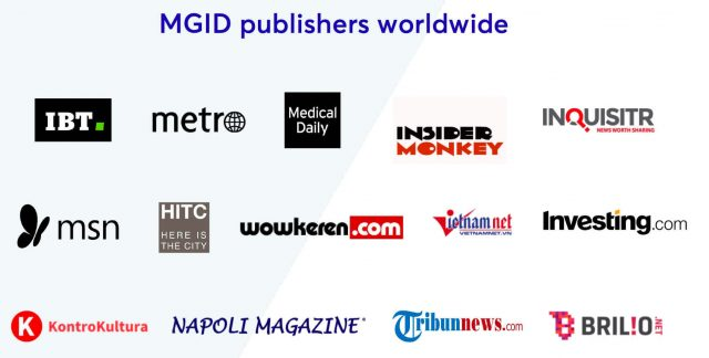 mgid ads - publishers