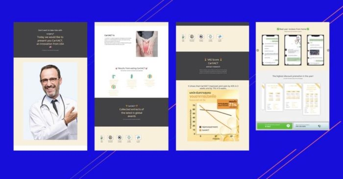 MGID case study - Thailand Landing Pages