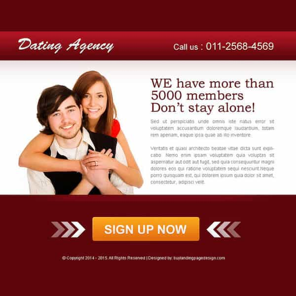 dating cpa offer example