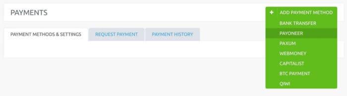 iMonetizeit payment methods