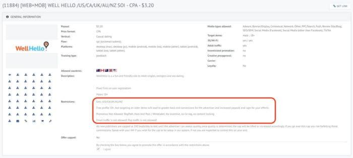 Clickdealer Offer Example